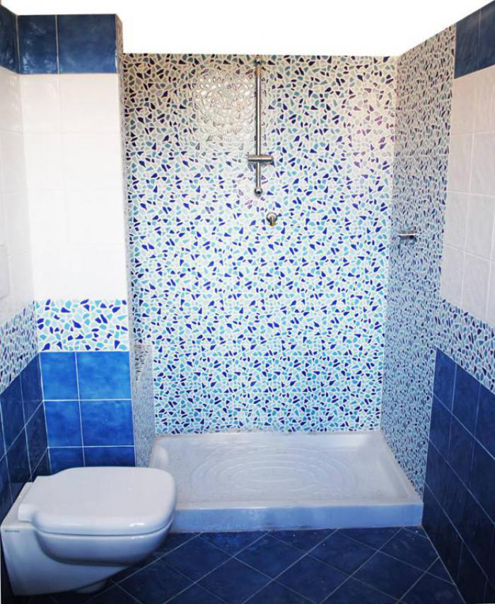 Pin Bagni Mosaico Blu on Pinterest